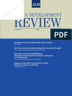 Asian Development Review - Volume 23, Number 1