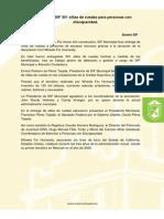 Entrega DIF 301 Sillas de Ruedas Para Personas Con Discapacidad