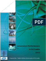Generation Performance of Sri Lanka 2012.pdf