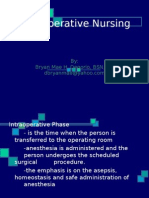 Intraoperative Nursing