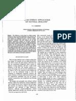 Solar Energy Application of Natural Zeolites D. I. Tchernev
