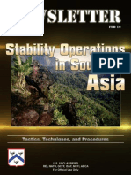 US Army Stability Operations in Southern Asia Newsletter