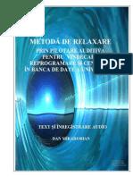 45864532 Dan Ian Metoda de Relaxare