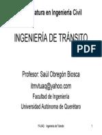 Ingenieria de Transito U1