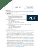 Resume Yan