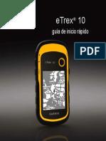 Manual GPS eTrex 10 QSM ES