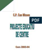 PROJECTE EDUCATIU DE CENTRE.doc