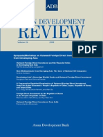 Asian Development Review - Volume 26, Number 2