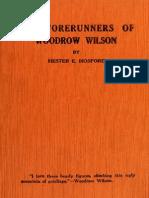 Forerunners of Woo 00 Hos