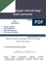 Islam Sebagai Rahmat Selesai