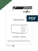 Final Kenstar Mwo_Manual KT20GBB3.pdf
