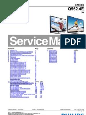 40PFL5507H-12 pdf | Hdmi | Computer Engineering
