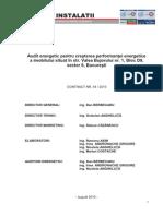 Audit Energetic Bloc Crestere Performanta