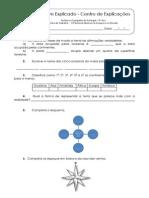 1-1.1.1 Ficha de Trabalho - A Península Ibérica na Europa e no mundo (1)