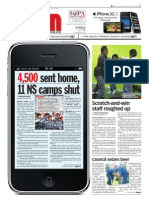 TheSun 2009-07-31 Page01 4500 Sent Home 11 NS Camps Shut