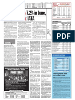 TheSun 2009-07-31 Page16 Air Traffic Falls 7.2pct in June Hit by h1n1 Flu Iata