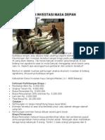 Kayu Sengon Investasi Masa Depan
