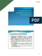 L3_Compta_Appro_LA CONSTATATION D'AMORTISSEMENTS DEROGATOIRES