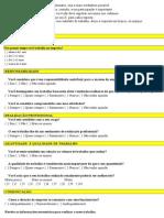 clima organizacional questionário