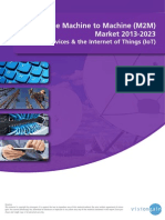 The Machine to Machine (M2M) Market 2013-2023.pdf
