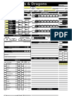 3 - Character Sheet Automatic version 21 Ron R.'s