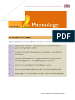 Chapter 2 Phonology