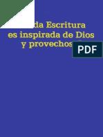 1990 Toda Escritura Es Inspirada de Dios y Provechosa v.baja