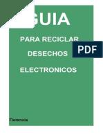 Proyecto Reciclado de Residuos de Aparatos Eléctricos y Electrónicos