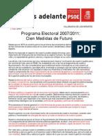 Programa Electoral 2007