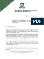 SALAZAR ARAUJO Rodolfo La Tutela de Derechos y Us Modalidades en El NCPP (1)
