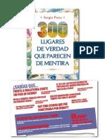 Dossier Prensa '300 Lugares de Verdad Que Parecen de Mentira' de Sergio Parra