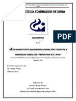 Anti Competitive agreement