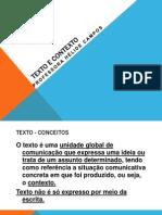 Texto e Contexto 22-05-2013