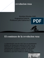 Nicolas Antil Revolucion Rusa