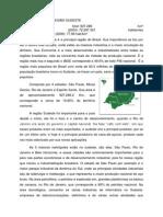A IMPORTÂNCIA DA REGIÃO SUDESTE