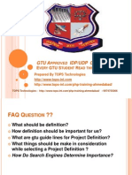 GTU approved Project Definitions in Php.ppt