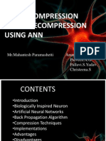 IMAGE COMPRESSION AND     DECOMPRESSION USING ANN.pptx