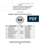 contoh laporan kelompok ppl.doc