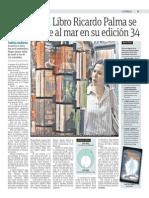 La Feria del Libro Ricardo Palma se muda frente al mar en su edición 34.pdf