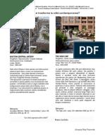 trasformazioni della città contemporanea