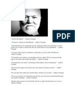 Quotes by Andrew Carnegie