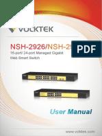 NSH-2926 & 2916 User Manual V1.0(6401-000043)