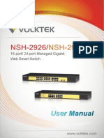 NSH-2926 & 2916 User Manual V1.0(6401-000043)