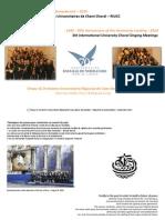 5th International University Choral Singing Meetings