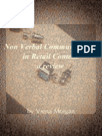 Non Verbal Communication  in Retail Context in slides presentations