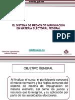 Sistema de Medios de Impugnacion en Material Electoral Federal