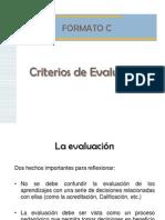 Evaluación Pedagogica  INSP MEXICO