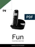 Manual Telefone Sem Fios Zon FUN