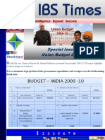 The+IBS+Times +Analysis+Union+Budget+2009 10