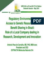 WIPO-IGC Paes de Carvalho Presentation